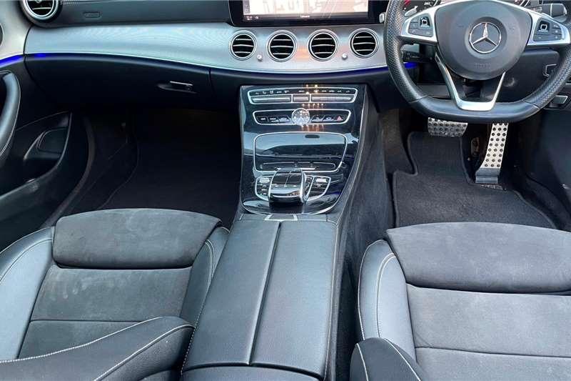 Used 2018 Mercedes Benz E-Class Sedan E 220d