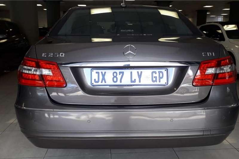 Mercedes Benz E-Class Sedan E 250 AVANTGARDE 2011