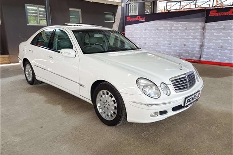 2003 Mercedes Benz E-Class sedan