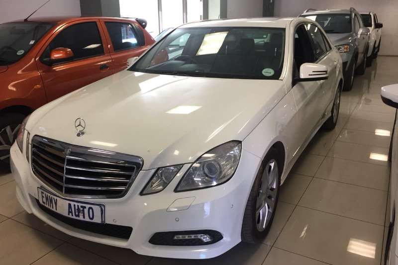 Mercedes Benz E-Class Sedan E 350d AVANTGARDE 2010
