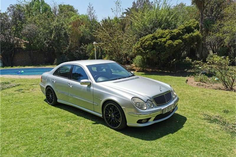 Mercedes Benz E-Class Sedan E 55 AMG 2003