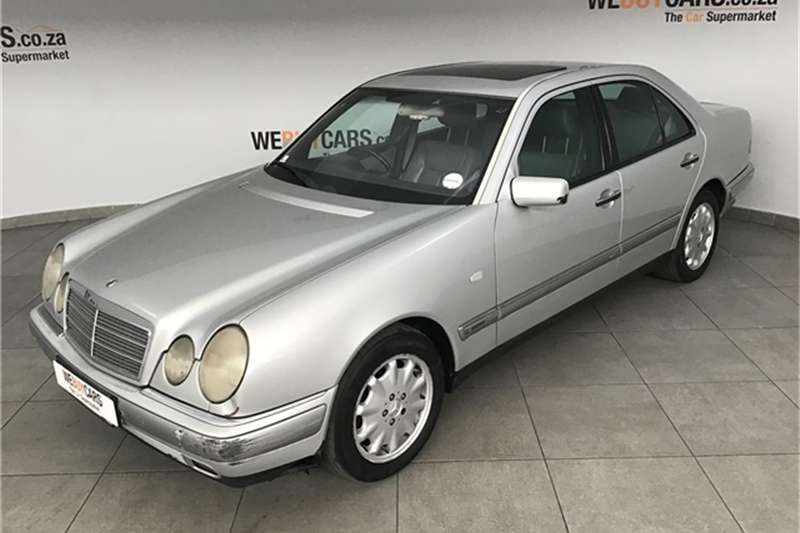 1997 Mercedes Benz E-Class sedan