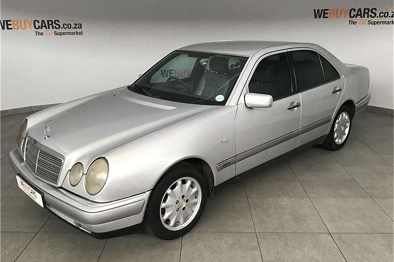 1996 Mercedes Benz E-Class sedan