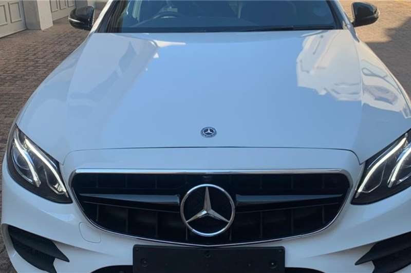 2018 Mercedes Benz E-Class sedan E 220d AMG