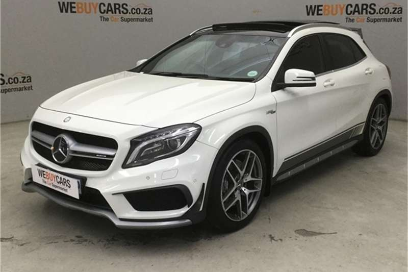 Mercedes Benz GLA 45 AMG 4Matic 2014