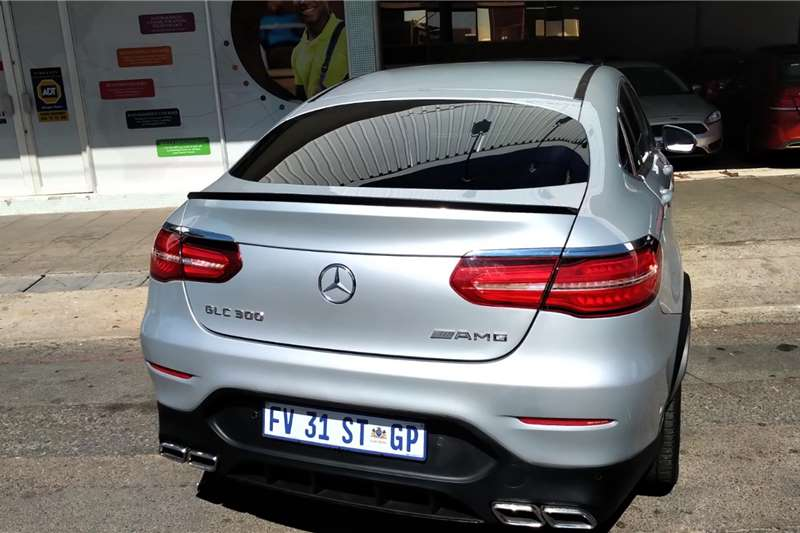Mercedes Benz GLC Coupe 300 AMG 2017