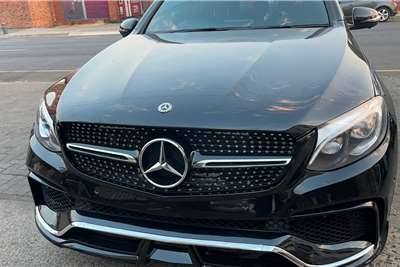 Used 2018 Mercedes Benz GLC Coupe AMG GLC 43 COUPE 4MATIC