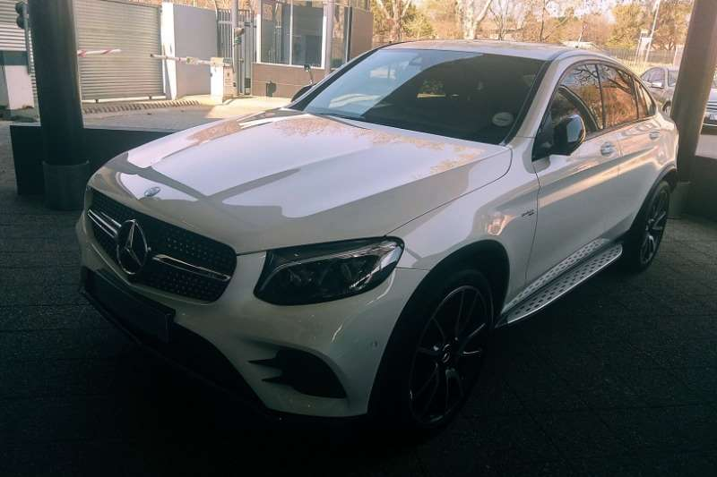 2018 Mercedes Benz GLC 43 coupe 4Matic