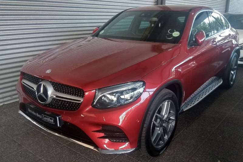 2017 Mercedes Benz GLC 220d coupe 4Matic AMG Line