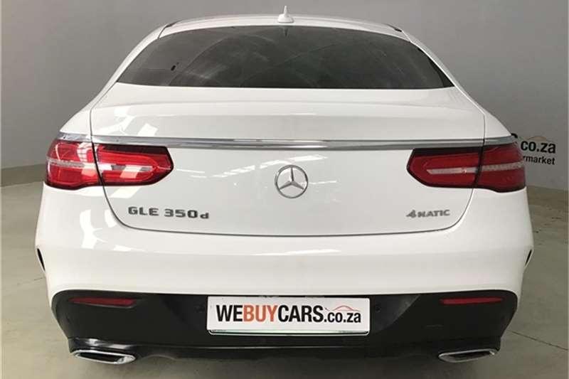 Mercedes Benz GLE 350d coupe 2016