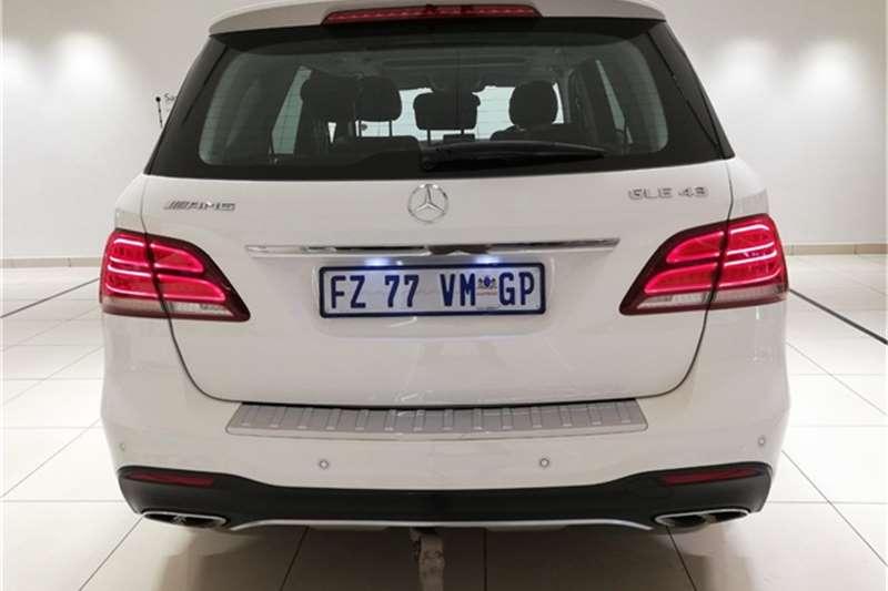 Mercedes Benz GLE 43 2017