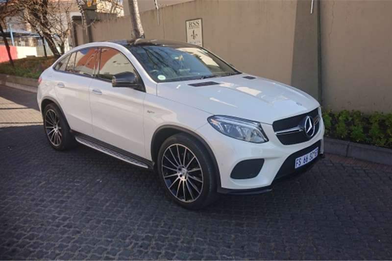 Mercedes Benz GLE 43 coupe 2017