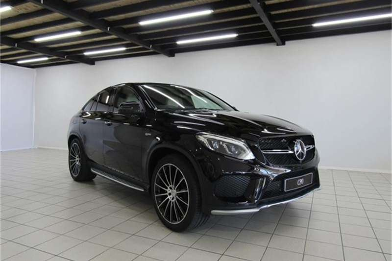 Mercedes Benz GLE 43 coupe 2018