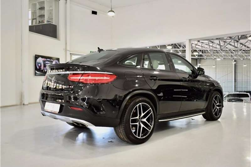 Mercedes Benz GLE 450 AMG coupe 2016