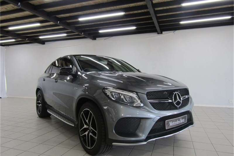 Mercedes Benz GLE 450 AMG coupe 2017