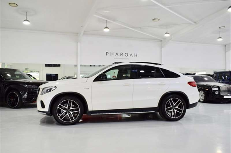 Mercedes Benz GLE 450 AMG coupe 2018