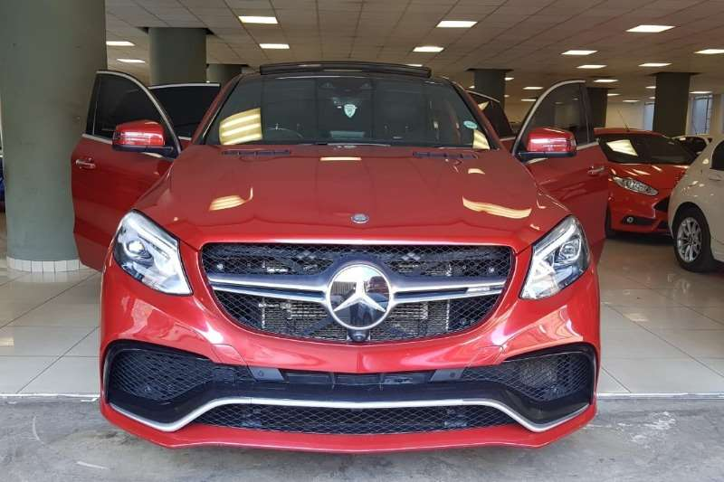 Mercedes Benz GLE 63 S AMG Coupe 2016