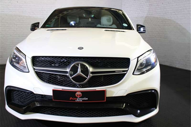 Mercedes Benz GLE 63 S coupe 2015