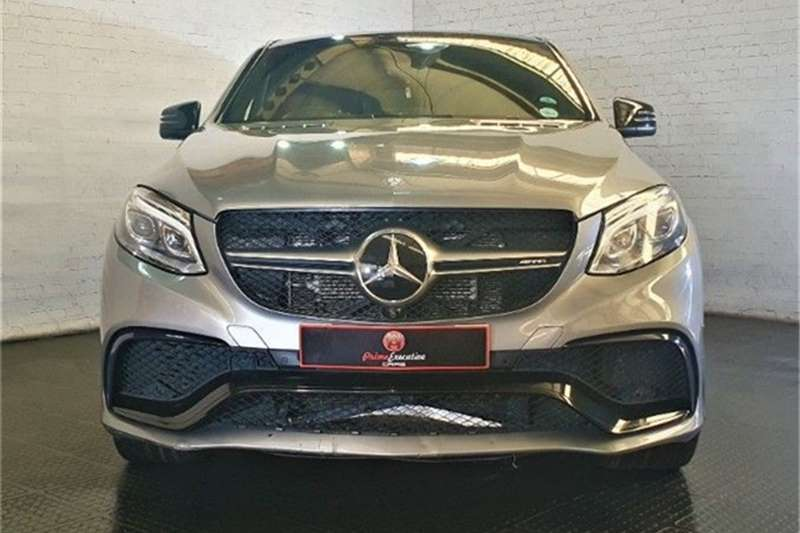 Used 2015 Mercedes Benz GLE 63 S coupe