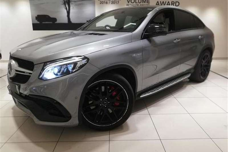 Mercedes Benz GLE 63 S coupe 2016