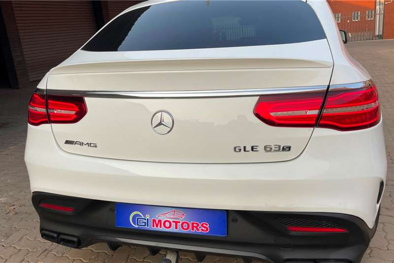Used 2016 Mercedes Benz GLE Coupe GLE COUPE 63 S AMG