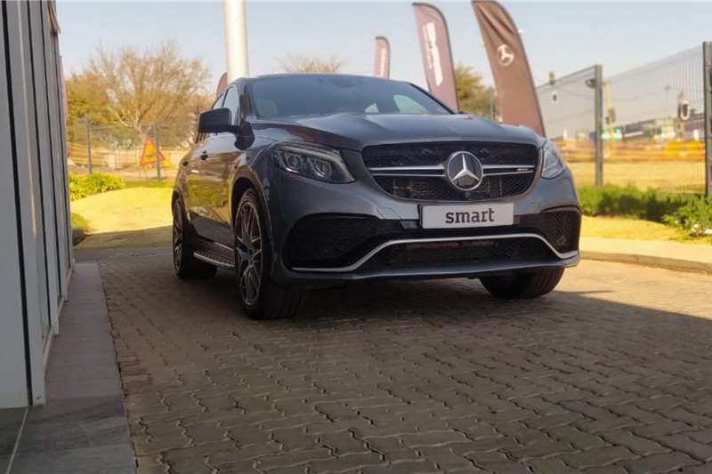 Used 2018 Mercedes Benz GLE Coupe AMG GLE 63 S COUPE 4MATIC