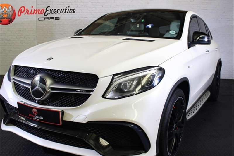 2015 Mercedes Benz GLE 63 S coupe