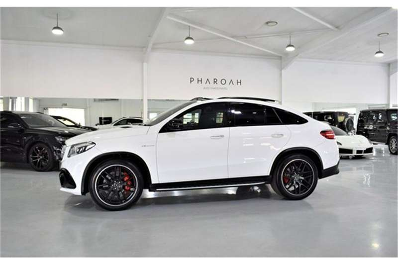 2017 Mercedes Benz GLE 63 S coupe