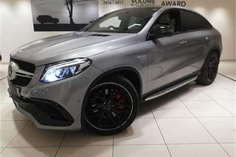 2016 Mercedes Benz GLE 63 S coupe
