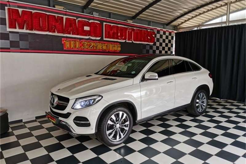 2016 Mercedes Benz GLE 350d coupe