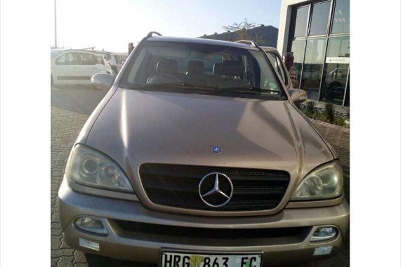 Mercedes Benz ML 2002