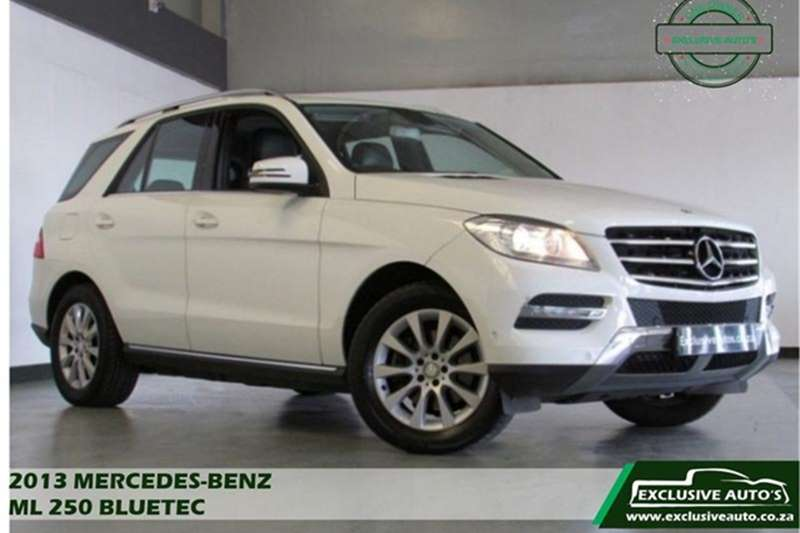 Mercedes Benz ML 250 BlueTec 2013