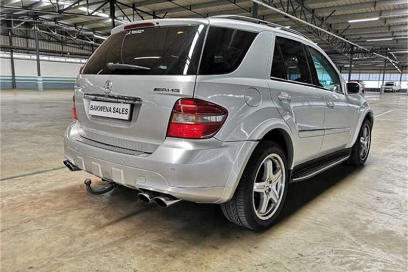 Mercedes Benz ML 63 AMG 2007