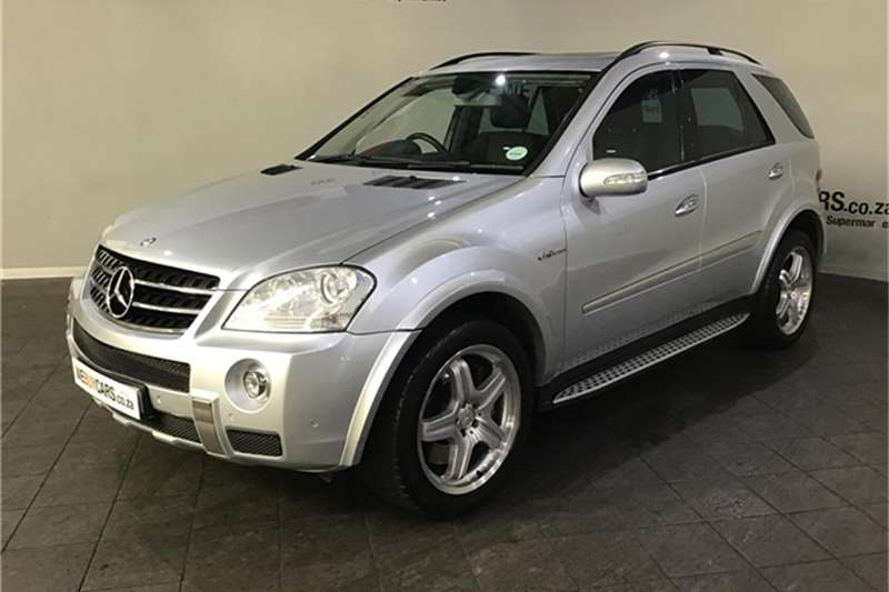 Mercedes Benz ML 63 AMG 2008
