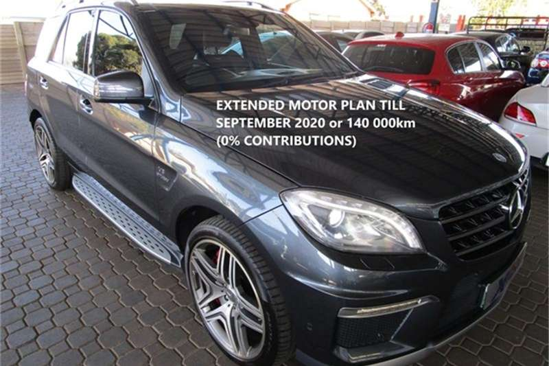 Mercedes Benz ML 63 AMG 2012