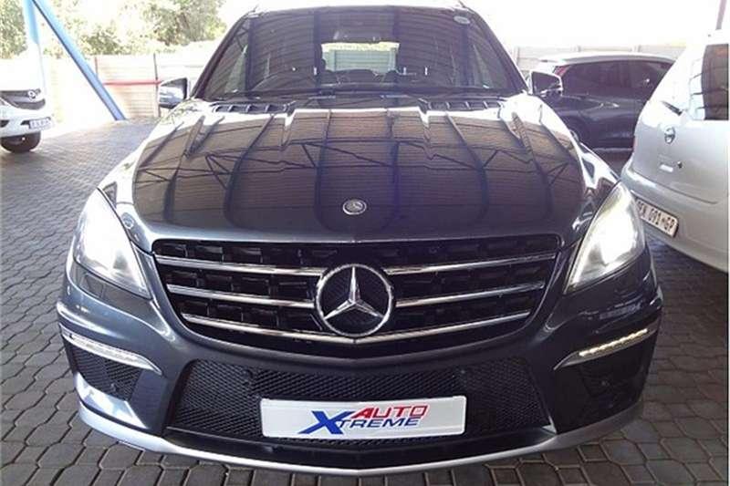 Mercedes Benz ML 63 AMG 2012