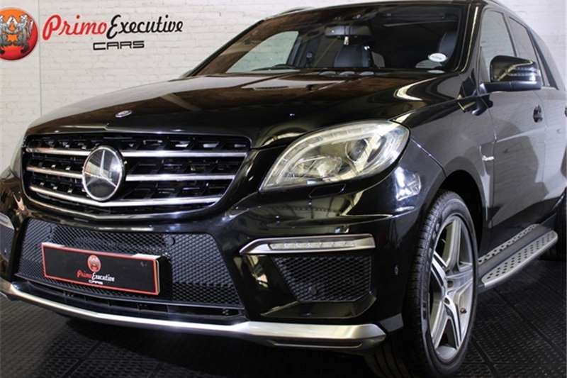 Mercedes Benz ML 63 AMG 2013