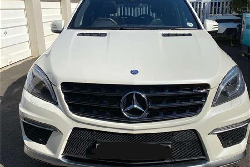 Mercedes Benz ML 63 AMG 2015