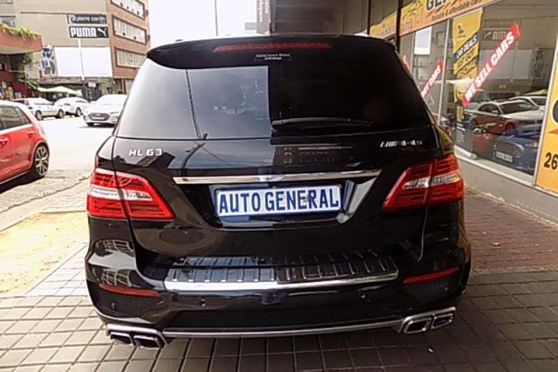 Mercedes Benz ML 63 AMG Performance 2014