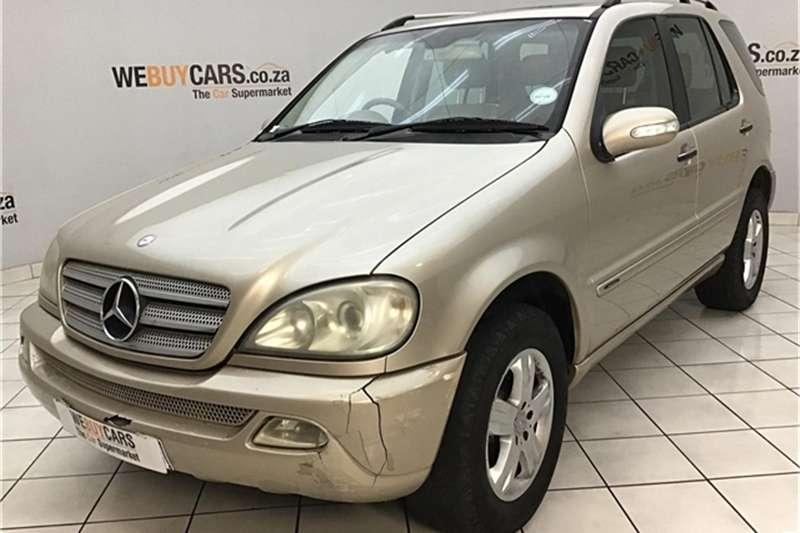 2005 Mercedes Benz ML 350