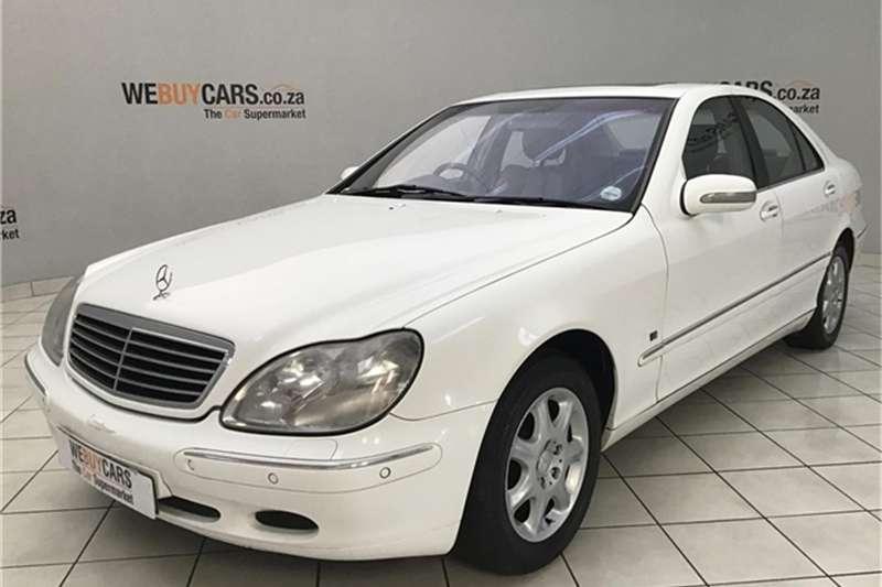 Mercedes Benz S Class 2000