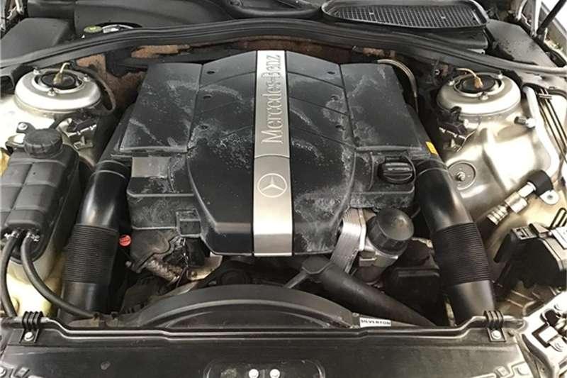 Mercedes Benz S Class 2001