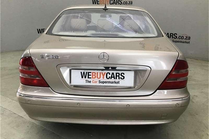 Mercedes Benz S Class 2002