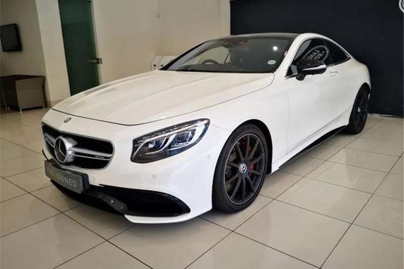 2016 Mercedes Benz S Class S63 AMG coupe