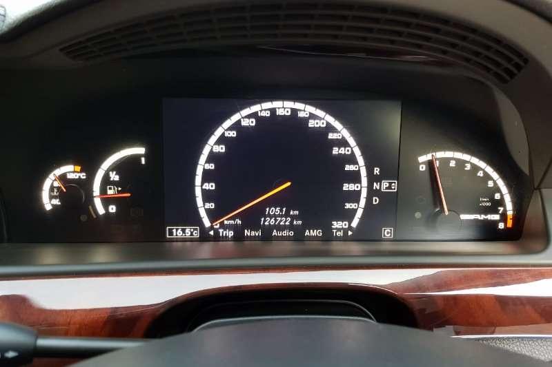 2008 Mercedes Benz S Class S63 AMG