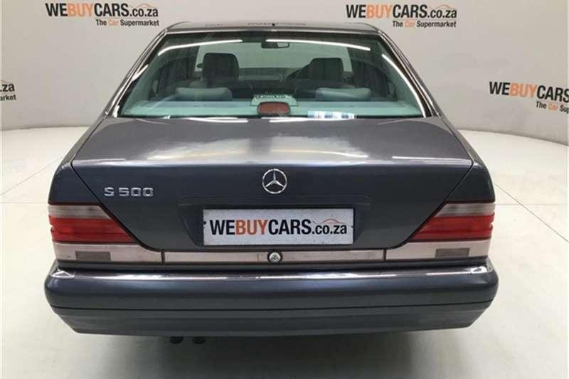 1998 Mercedes Benz S Class S500