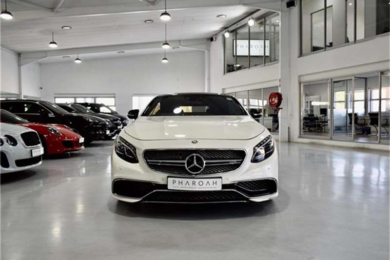2015 Mercedes Benz S Class S65 AMG coupe