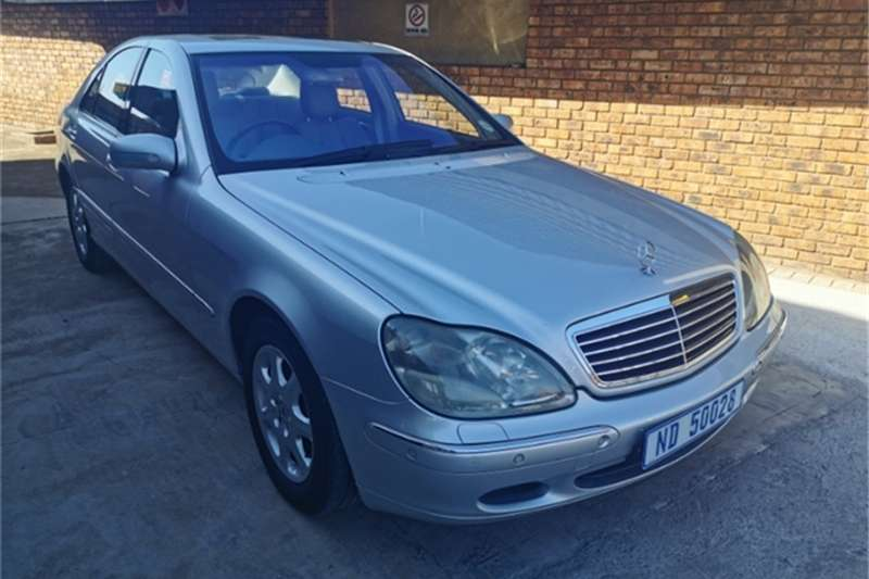 Mercedes Benz S Class L AT 2002