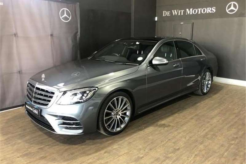 Mercedes Benz S-Class L S400d 2018