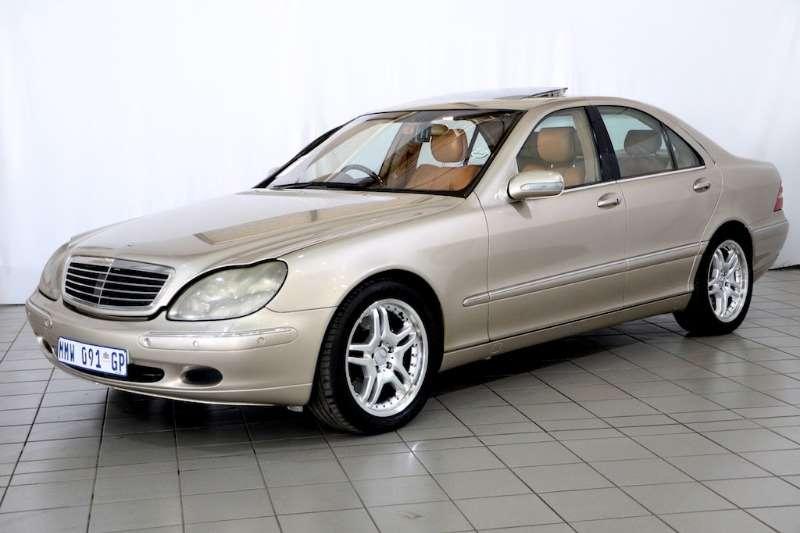 Mercedes Benz S Class S500 2001